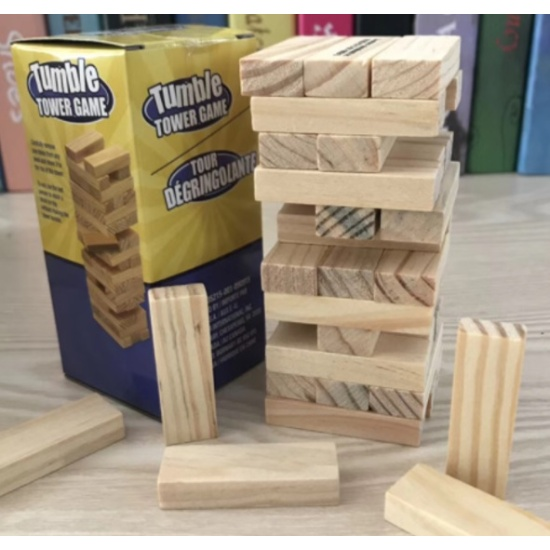 Jenga Game (Hong Kong)
