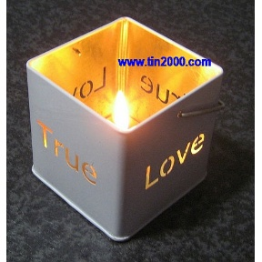 Tea Light Tin (Hong Kong)