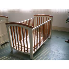 Wooden Cot Bed (Hong Kong)