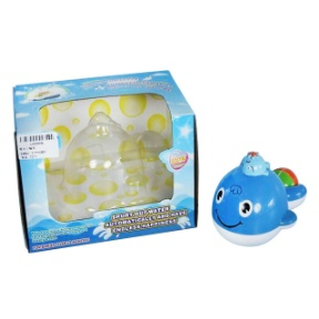 Bath Toy--B/O Whale W/Spray Water (Hong Kong)