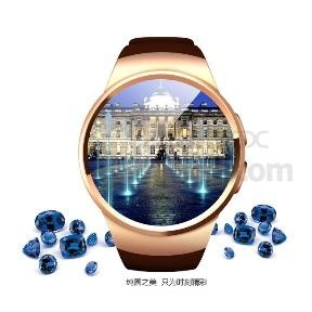 2016 KW18 New Bluetooth Smart Watch SIM Heart Rate Monitor for Apple iOS Android (China)