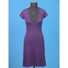 Cotton Cashmere Knitted Dress (Hong Kong)