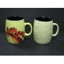 Embossed Ceramic Mug  (China)