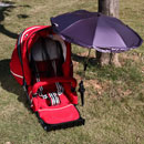 Baby Stroller's Clamp-on Umbrella (China)