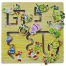 Wooden Puzzle Playset (China)