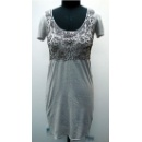 Beading Silk Linen Knitted Dress (Hong Kong)