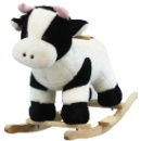 Plush Rocking Cow (China)