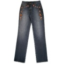 Ladies' Diamante Embellished Jeans (Hong Kong)