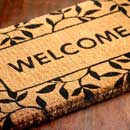 Printed Coir Door Mat (India)