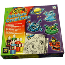 3D Sticker Creation Set (Israel)
