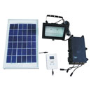 Solar Floodlight with Timer (China)