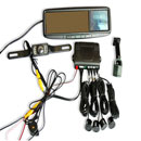 Rear-View Mirror GPS Navigation Kit (China)
