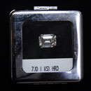 Emerald-Cut Diamond (Belgium)