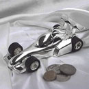 Zinc Alloy Racing Car Money Box (Hong Kong)