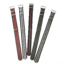 Nylon Striped Watch Band (Hong Kong)