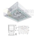 40W~150W induction ceiling lamp apply in indoor lighting (China)