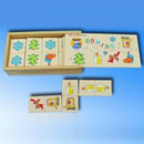Toy Wooden Domino Set (China)