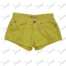 Lady's Colourful Denim Shorts (Hong Kong)