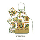 4-Piece Kitchen Linen Set (China)