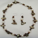 Pearl Necklace and Earrings Set (Hong Kong)