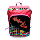 Girls' Dotted School Bag (Hong Kong)