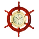 Ship-Wheel Porthole Clock (Taiwan)