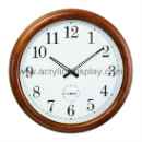 Wooden Wall Clock (China)