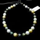 Multi-Color Pearl Necklace (Japan)