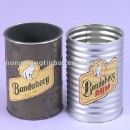 Pencil Holder Tin Box (Hong Kong)