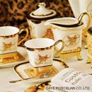 Leopard 15pcs coffee set  (China)