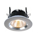 Downlight COB-68, 8W, 60, Neutral White, 350mA, Alu Brushed (Hong Kong)