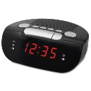 AM/FM PLL Radio LED Alarm Clock with Battery Back-up (Hong Kong)
