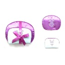 Set of 2pcs Dome Shape Cosmetic Bags with Embroidery at the front (Hong Kong)