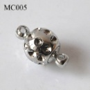 Silver Plated Brass Magnetic Clasp (China)