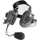 Speaker Microphone for Two Way Radio - Ear Muff with Noise Canceling  (Taiwan)