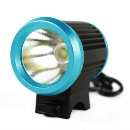 Blue 4.2V 1800LM Bicycle bike HeadLight Lamp Flashlight 6400mah Battery Pack (Hong Kong)