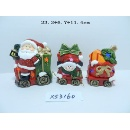 Ceramic Santa Deco (China)
