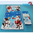 Microfiber 100% Polyester Christmas Beach Towel (China)