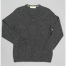 Triangle Pattern Vee Neck Jumper (Hong Kong)