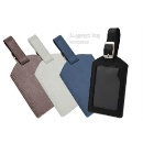 Promotional Colorful PU Leather School ID Card Holder / Travel Luggage Tag (Hong Kong)