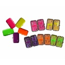 6 Pieces Mini NEON Color Manicure Set   (Hong Kong)
