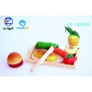 Wooden Cut Fruits Kitchen Toys (China)