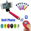 Bluetooth Shutter Release and Monopod  (China)