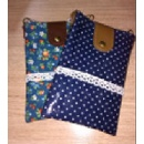 Blue Lace Mobile Phone Pouch (Hong Kong)