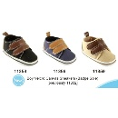 Boy Touch Fastener Canvas Sneakers (Badge Sole) (Hong Kong)
