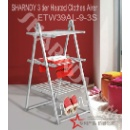 3 Tier Heated Clothes Airer (China)