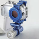 Digital Camera with Waterproof Housing (Taiwan)