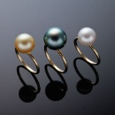 Single Pearl Gold Ring (Japan)