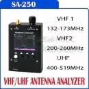 Surecom SA250 132-173 / 200-260 / 400-519MHz Colour Graphic Antenna Analyzer (Hong Kong)