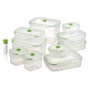 Flavia A Type - Rectangular Vacuum Storage Container/Box (Taiwan)